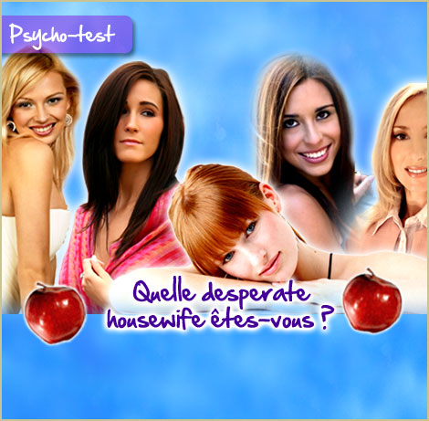 Quelle desperate housewife ?