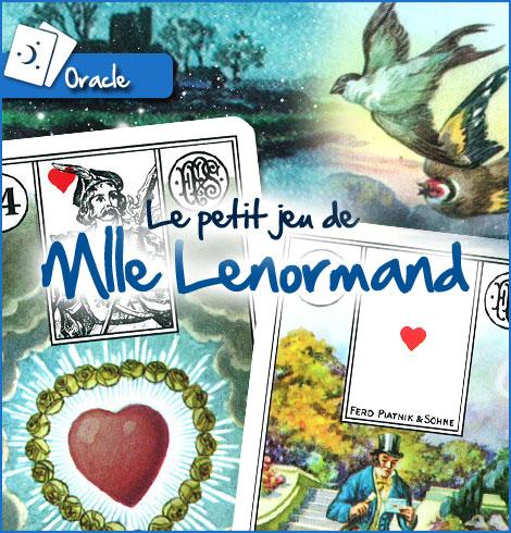 6b482df9d36fc9 Le petit jeu de Mlle Lenormand
